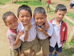 thai children 01